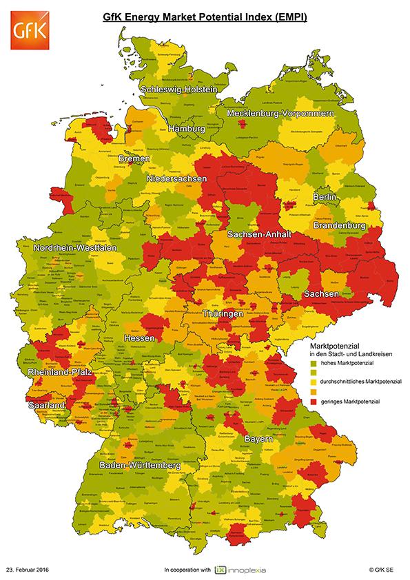 EVU-Deutschland-Karte